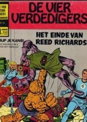 De Vier Verdedigers - Het einde van Reed Richards (Tweedehands)