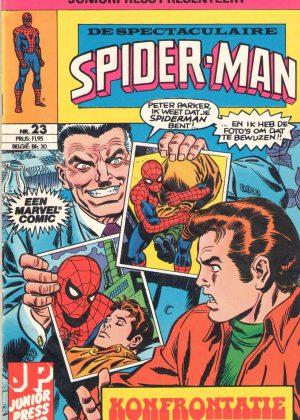 De Spectaculaire Spiderman 23 - Konfrontatie (Tweedehands)