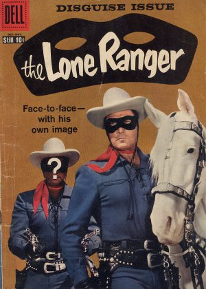 The Lone Ranger - The Lone Ranger's Mask (Dell) (Engels)