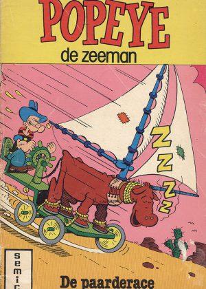 Popeye De Zeeman - De Paarderace (Tweedehands) (Semic)