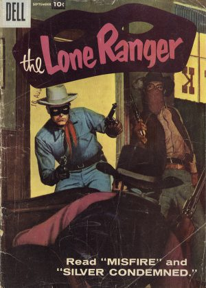 The Lone Ranger - Silver Condemned (Dell) (Engels)