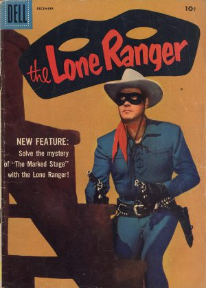 The Lone Ranger - The Lone Ranger Escape (Dell) (Engels)