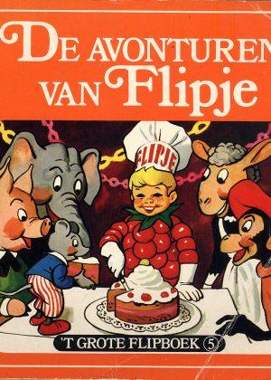 De Avonturen van Flipje - 'T Grote Flipboek 5 (Pocketstrip)