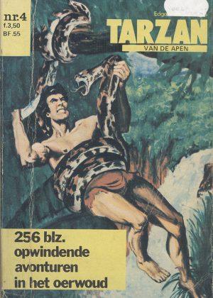 Tarzan pocket 4 - Tarzan van de apen