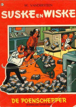 Suske en Wiske 67 - De poenschepper (2e Druk)