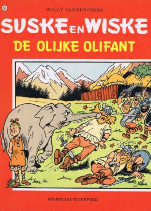Suske en Wiske 170 - De olijke olifant (zgan)