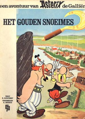 Asterix Het gouden snoeimes (De Geïllustreerde Pers)