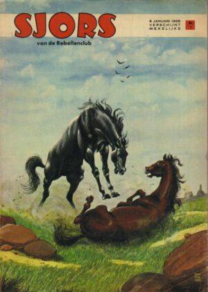 Sjors van de Rebellenclub - (1968) (36 strips)