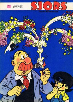Sjors van de Rebellenclub - (1966) (50 strips)