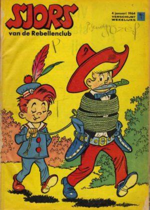 Sjors en Sjimmie van de Rebellenclub - Collectie 1964 1 t/m 52 (HC) (2 Boeken)