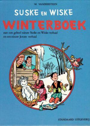 Suske en Wiske Winterboek - nr 1 - 1973 (HC) (Tweedehands)
