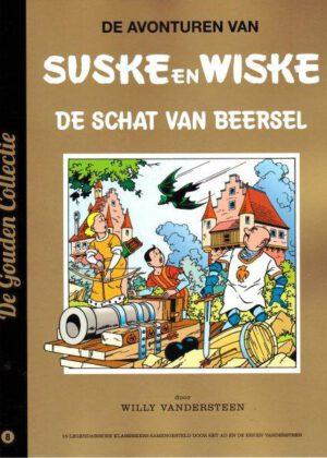 Suske en Wiske 8 - De Schat Van Beersel (De Gouden Collectie)