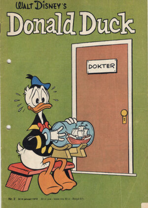 Donald Duck Strippakket (41 strips, 1972)