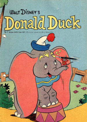 Donald Duck Strippakket (50 strips, 1971)