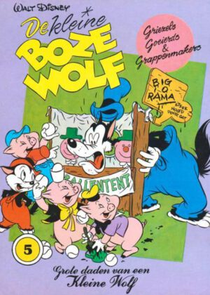 De kleine boze wolf 5 - Griezels, goeierds en grappenmakers