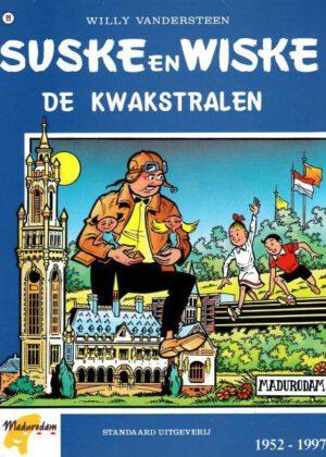 Suske en Wiske 99 - De kwakstralen(blauwe uitgave) (zgan)