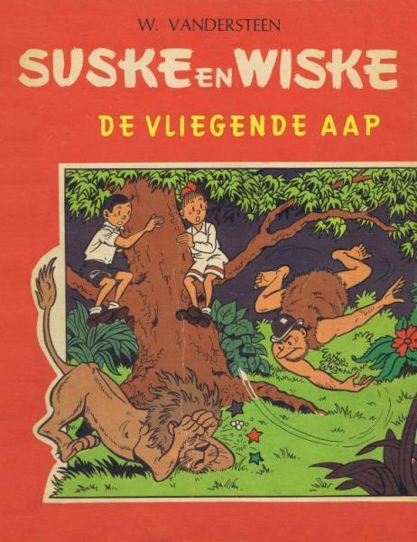Suske en Wiske 65 - De vliegende aap (Druk 1966)