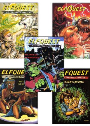 Elfquest strippakket #2 (5 strips)