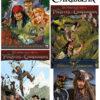 Pirates of the Caribbean strippakket (3 strips+filmboek)