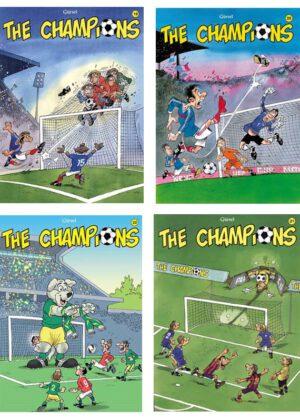 The Champions Strippakket (4 strips)