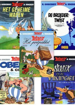 Asterix Strippakket (5 strips)