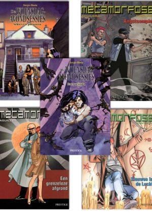 Thriller Strippakket #1 (5 strips)