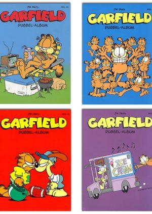 Garfield Strippakket (4 strips)